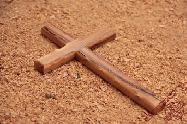 Olive Wood Carved Wall Cross