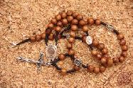 Olive Wood Rosary with Holy Water Rosary Center