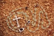 Phosphorus Long Rosary with Small Oval Icons