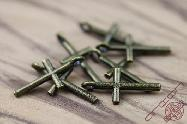 Jewelry Accessory Small Bronze Cross