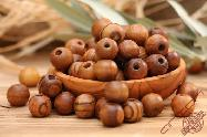 Olive Wood Round Beads 15mm